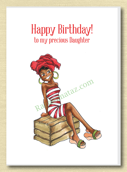African American Daughter Birthday Card A Aa Cards Pinterest