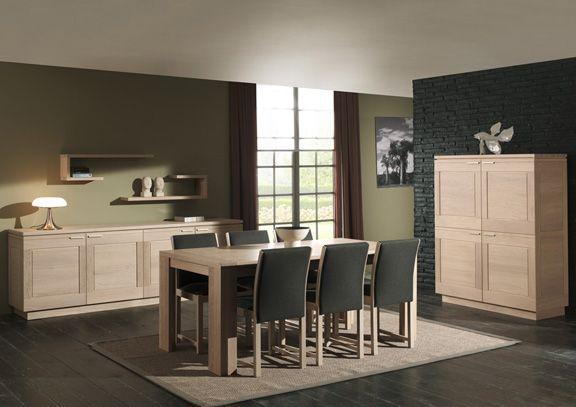 Eetkamer met houten meubels #woonstijl #puur