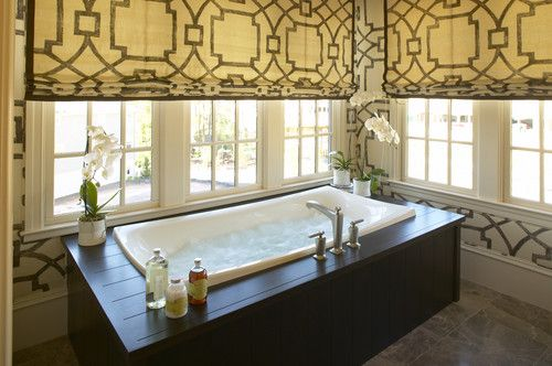 love the shades   eclectic bathroom by Kohler