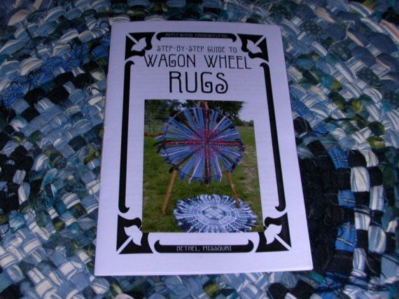 Wagon Wheel Rug Weaving Instructions By Lewoodhandwovens 10 00 Rosie Weaves These Rugs Regularly