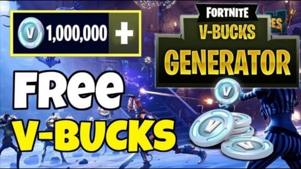 UPDATE Free V Bucks Generator 2020 - UPDATE Free V ...