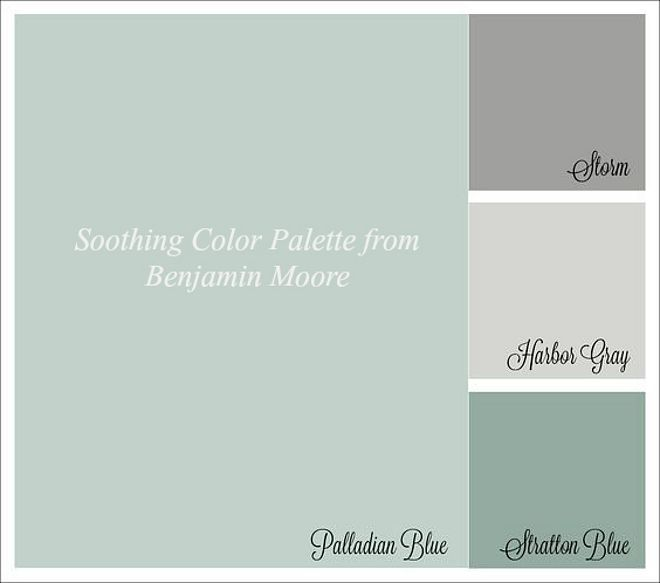 Soothing Colors Cool Soothing Color Palette From Benjamin Moore Benjamin Moore Design Ideas