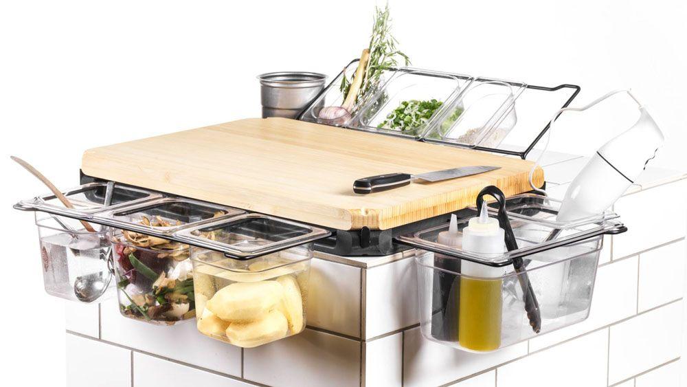 Frankfurter Brett Kitchen Workbench Upgraded Cutting Board (4 - die besten küchengeräte
