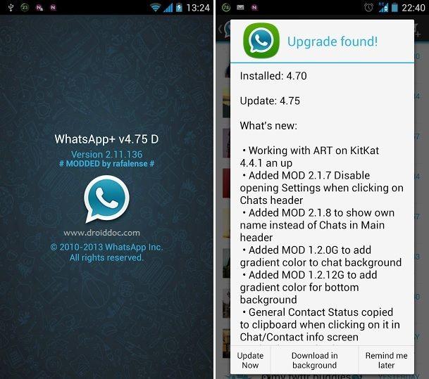 تحميل برنامج واتس اب بلس الازرق Whatsapp Plus 2020 مجاناً