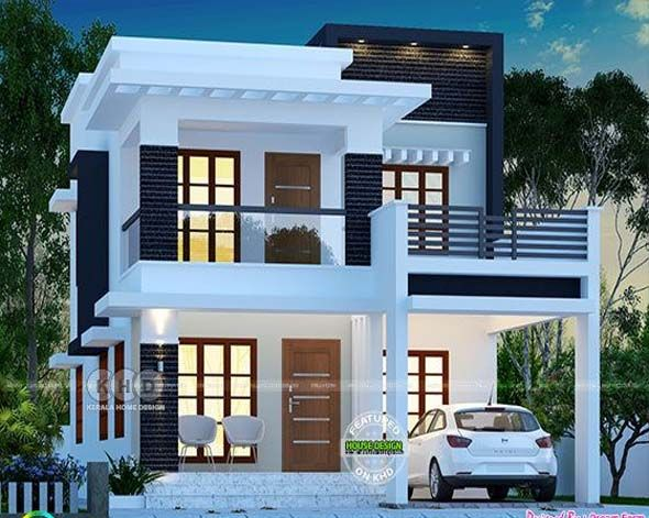 Cute modern house plan by dream houses also january kerala home design and floor plans in rh pinterest