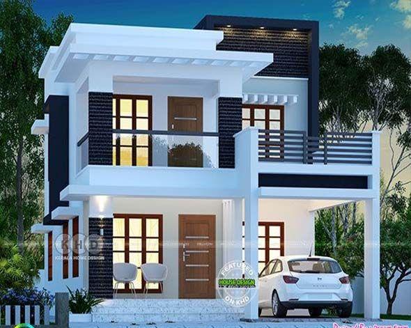 Cute Modern House Plan By Dream Houses 2 Storey House Design Kerala House Design Duplex House Design