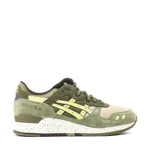 4be6b48d5dd0 ASICS GEL-LYTE III LIGHT OLIVE SUNSHINE CRANE   TURTLE PACK H513L-8696