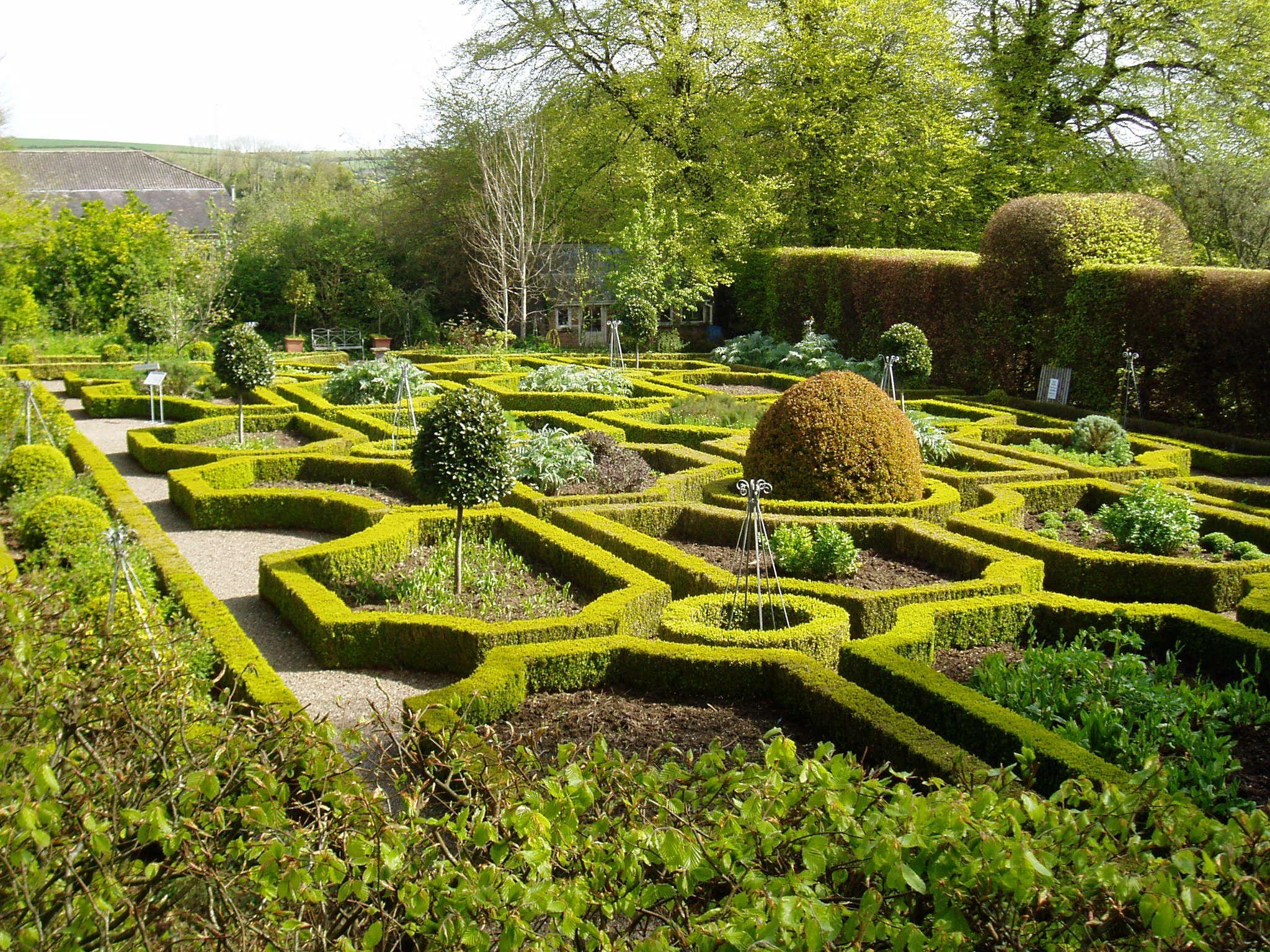 The Gardens At Ballymaloe Cookery School Organic Gardening Eco