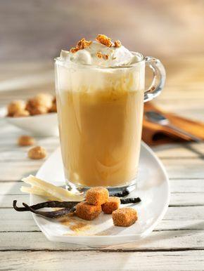 Vanille-Kaffee mit weißer Schokolade