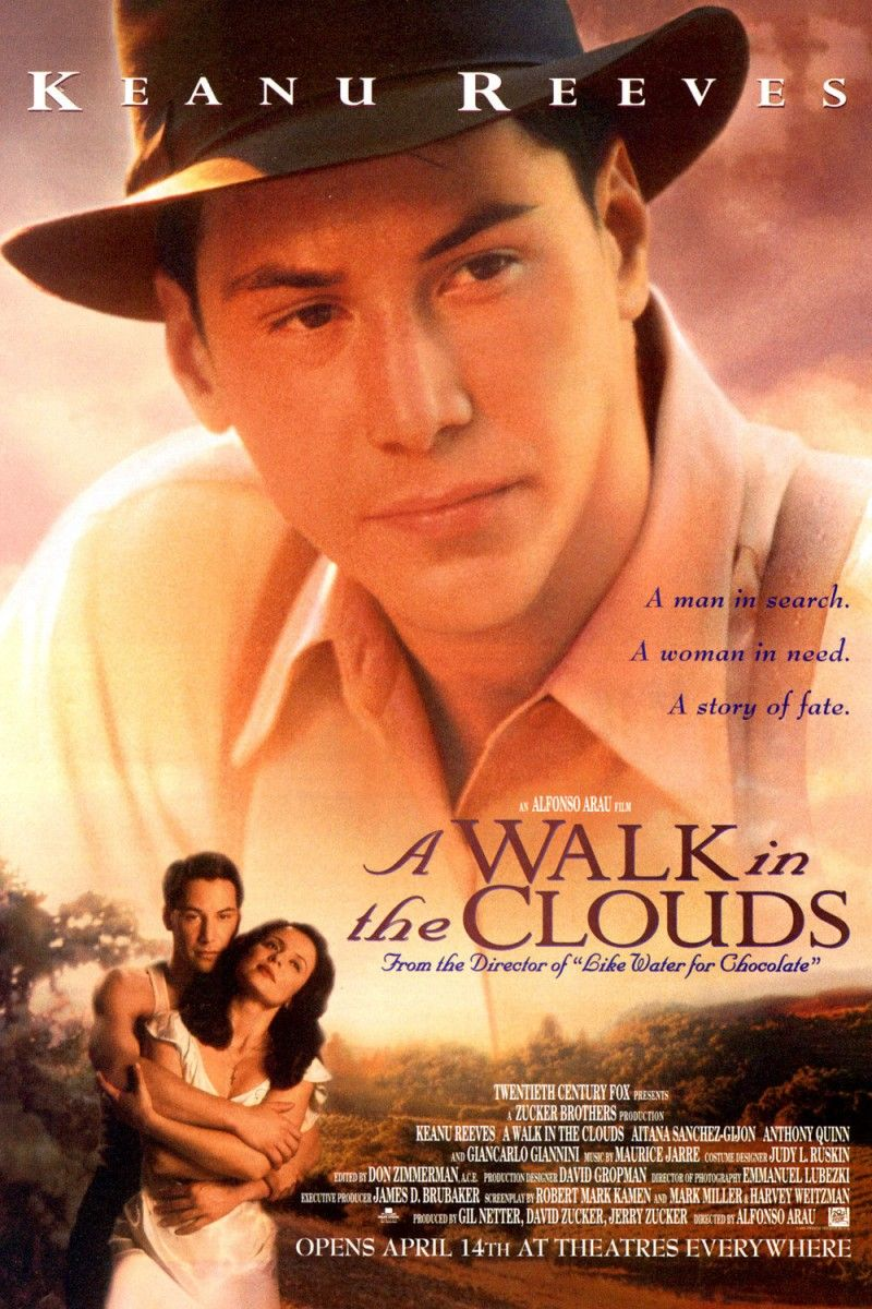 """A Walk in the Clouds~ starring Keanu Reeves ~ a wonderful ..."
