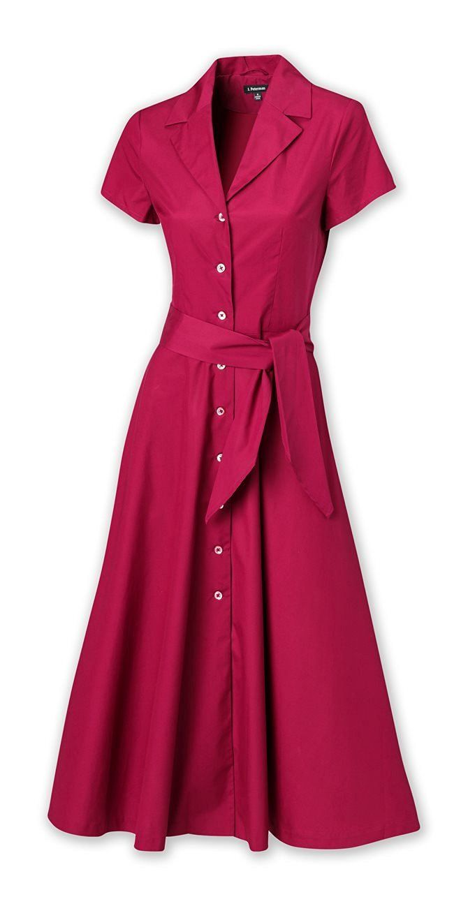 db159dd0343 Shop 1940s Style Shirt Dress - Shirtwaist Dresses in 2019
