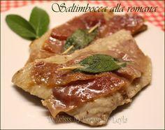 Saltimbocca alla romana: una ricetta semplice e molto profumata che si prepara velocemente. Perfetta in famiglia, anche per una cena tra amici.