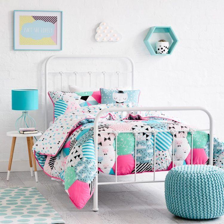 Mobilier chambre fille \u2013idées novatrices qui vous inspireront Pouf - peinture chambre bebe fille