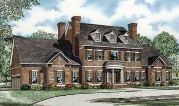 House Plan 110 00669 Colonial Plan 4 996 Square Feet 3 Bedrooms 5 5 Bathrooms Colonial House Plans Colonial House Exteriors Modern Farmhouse Plans