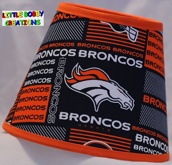 Nfl denver broncos fabric lamp shade 10 sizes to choose from nfl nfl denver broncos fabric lamp shade 10 sizes to choose from mozeypictures Image collections