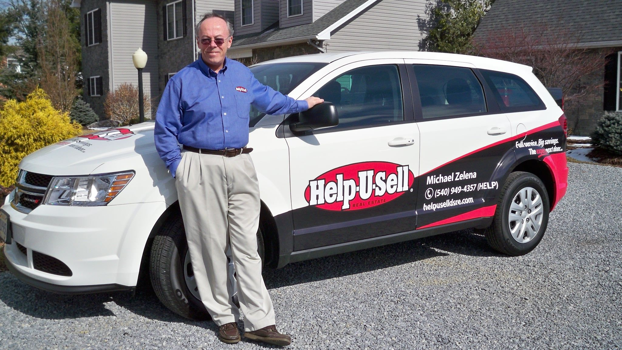 Mike Zelena of Help-U-Sell Direct Savings Real Estate poses with his ...