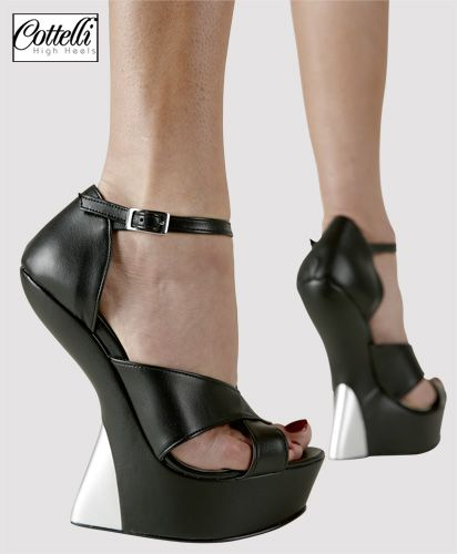 NUOVO Acne neri in pelle scamosciata con zeppa tacco sandali con cinturino alla caviglia taglia 39
