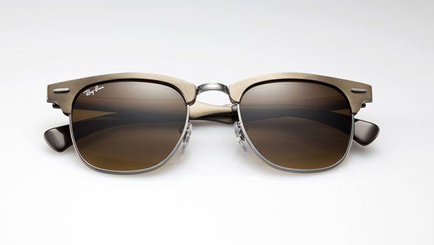 255bd63acd Ray-Ban Clubmaster en aluminium #rayban #clubmaster #aluminium #lunettes  #solaire