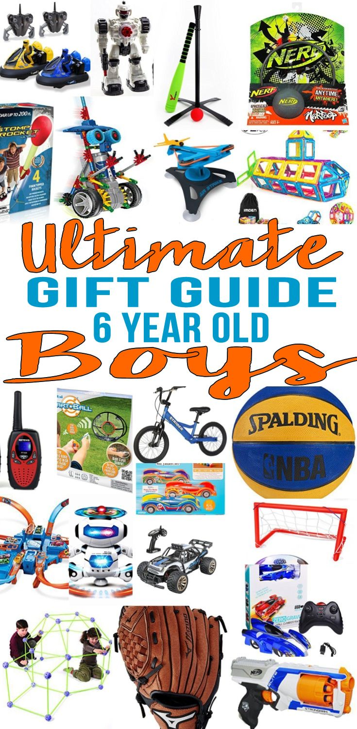 Top 6 Year Old Boys Gift Ideas