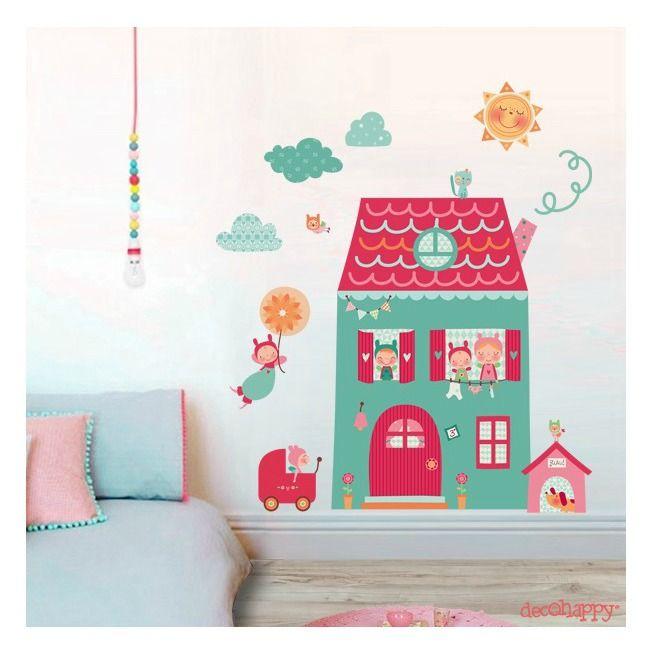 Paredes infantiles decoracion paredes infantiles y - Decorar paredes habitacion bebe ...