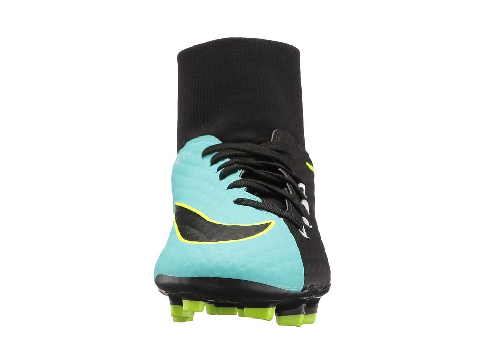 14407a27b531 Nike Hypervenom Phelon III Dynamic Fit FG Women s Soccer Shoes Light  Aqua White Black