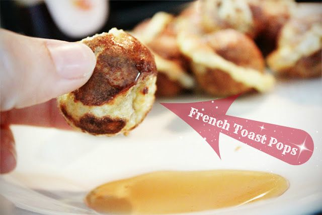 French Toast Pop Recipe