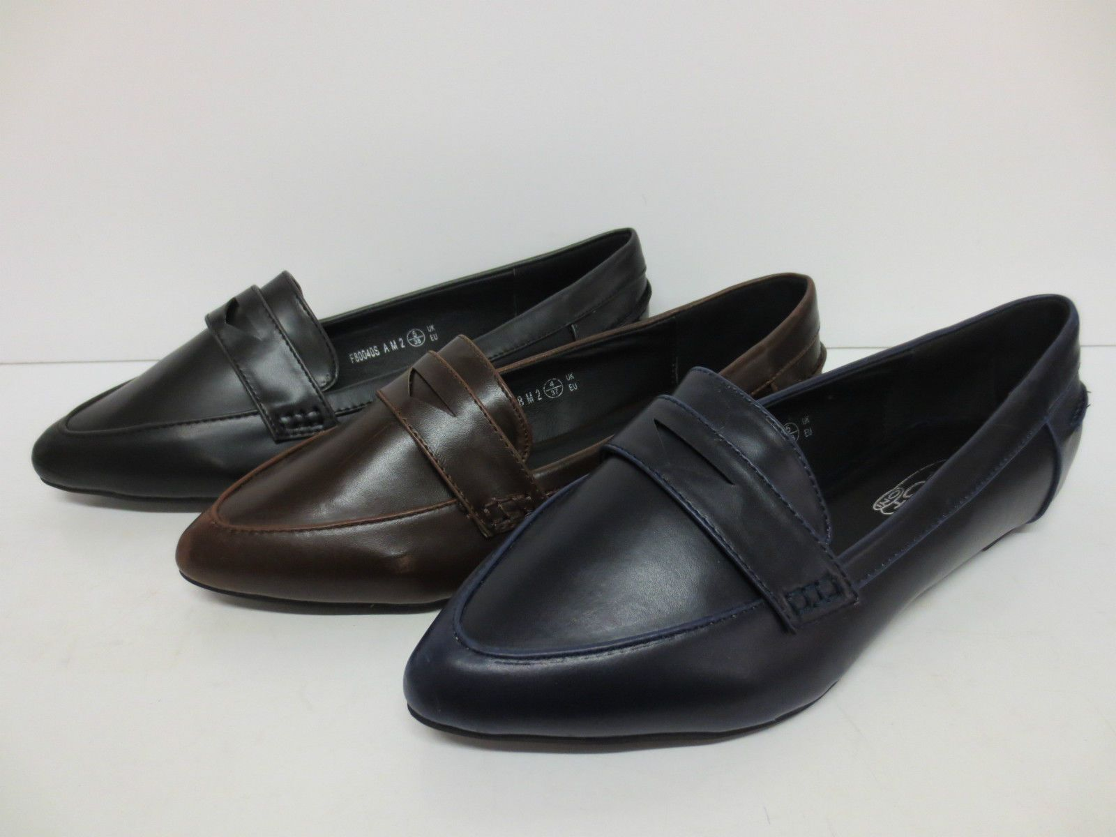 Ladies Spot On Loafer Shoes