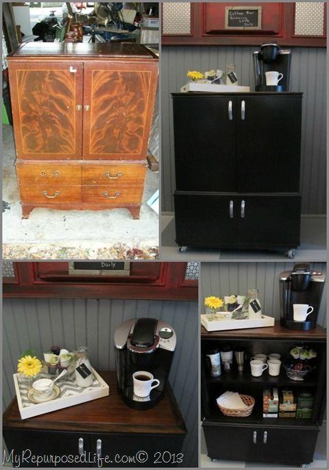 Attractive Portable Coffee Bar