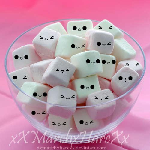 marshmallow Marshmallow Army by xXMarchxHareXx on