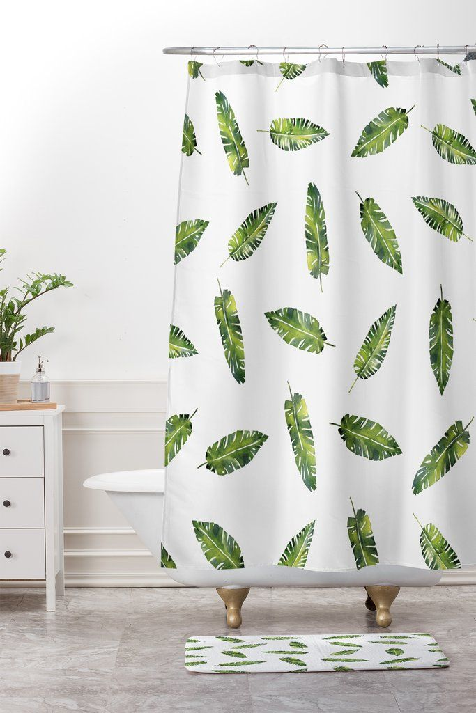 Inspire Daily Shower Curtain Green Bathroom Accessories Green Bathroom Rugs Dark Green Bathrooms