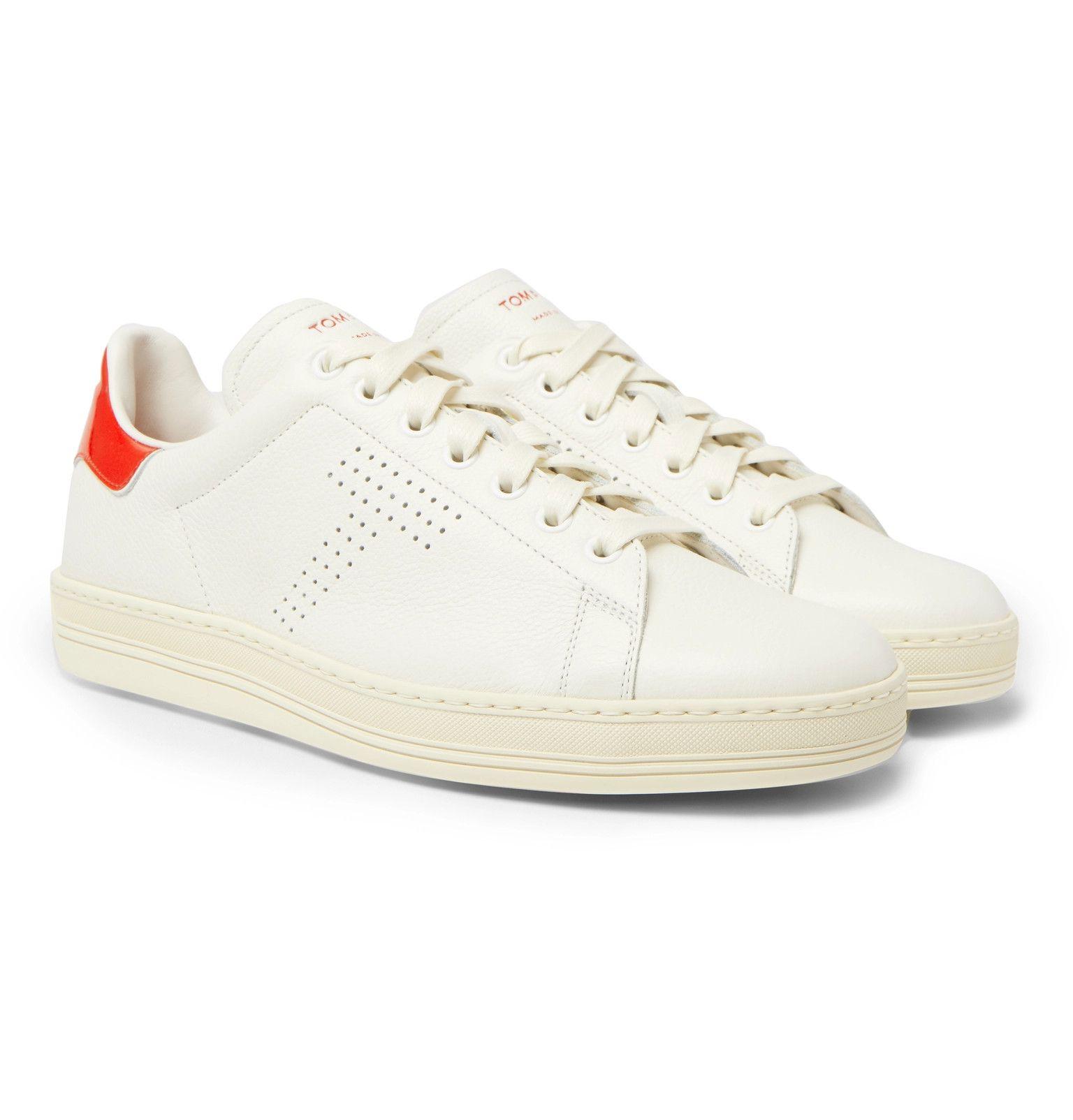 Warwick Perforated Full-grain Leather Sneakers Tom Ford oXyxg3UeU