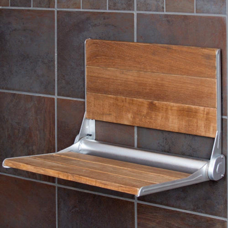 Teak Shower Seat with Backrest | Pinterest | Shower seat, Teak and ...