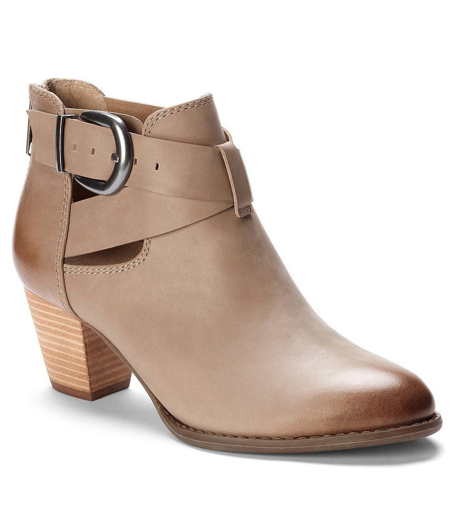 468aca502737d Shop for Vionic Upright Rory Leather Buckle Stacked Block Heel Ankle Boots  at Dillards.com. Visit Dillards.com to find clothing, accessories, shoes,  ...
