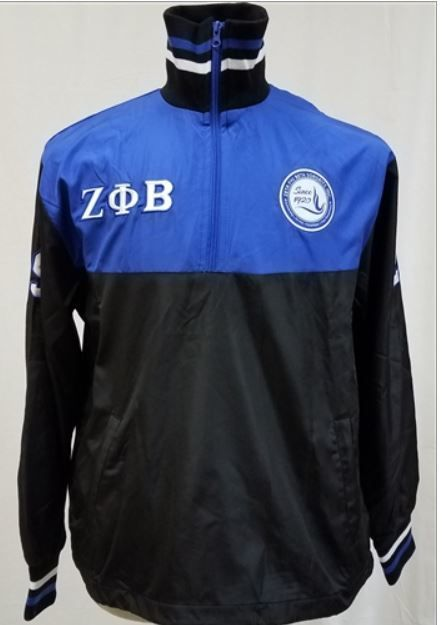 Zeta Track Jacket From Greek CertiPHIed Apparel