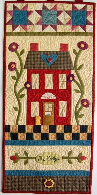 Welcome Home Wall Hanging Quilt Pattern By Buttons And