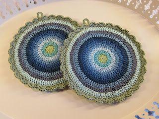 Wenches hobbyblogg...: Blått er flott