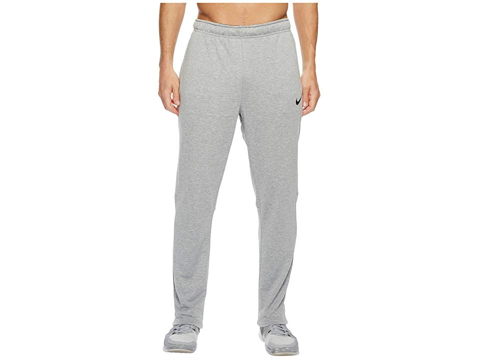 Nike Dry Training Regular Pant Dark Grey HeatherBlack Mens Workout Move smoothly through drills or exercises in the versatile Dry Training Pant Regular fit is eased but n...
