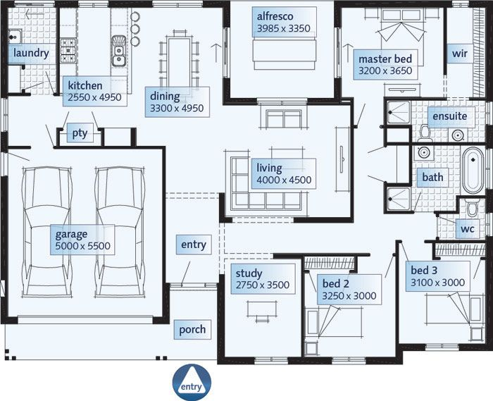 Single Story House Floor Plans Modern Amazing Home With