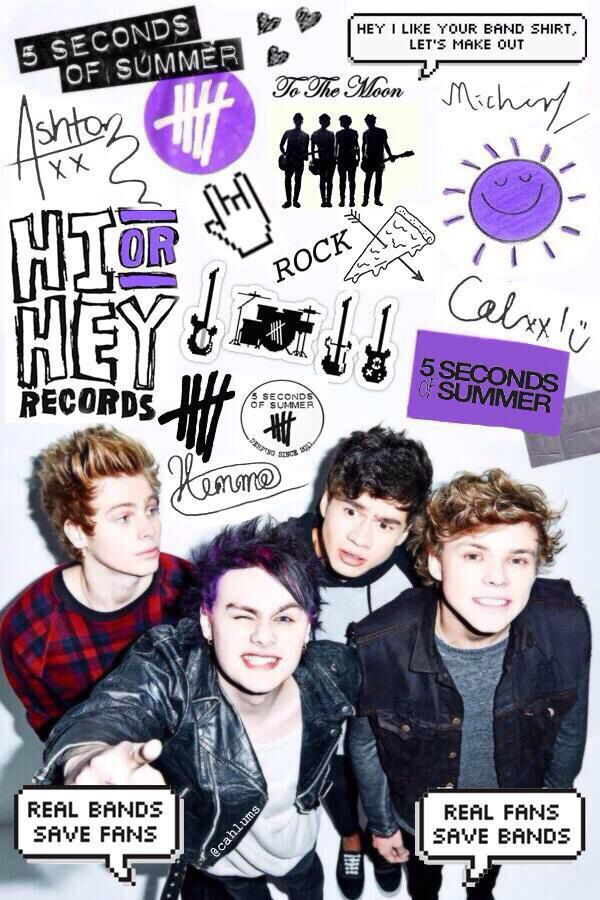 5sos Wallpaper Luke Hemmings Michael Cliford Calum Hood Ashton Irwin