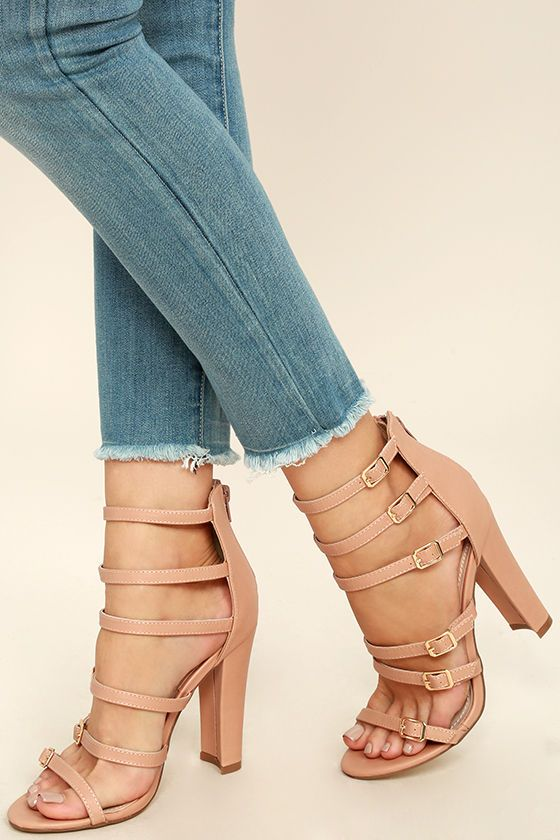 2 Color Sexy Adjustable Lace Up Womens Strappy Sandals