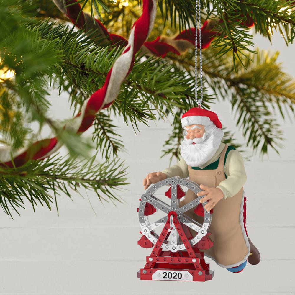 Toymaker Santa 2020 Ornament In 2020 Keepsake Ornaments Hallmark Ornaments Ornaments