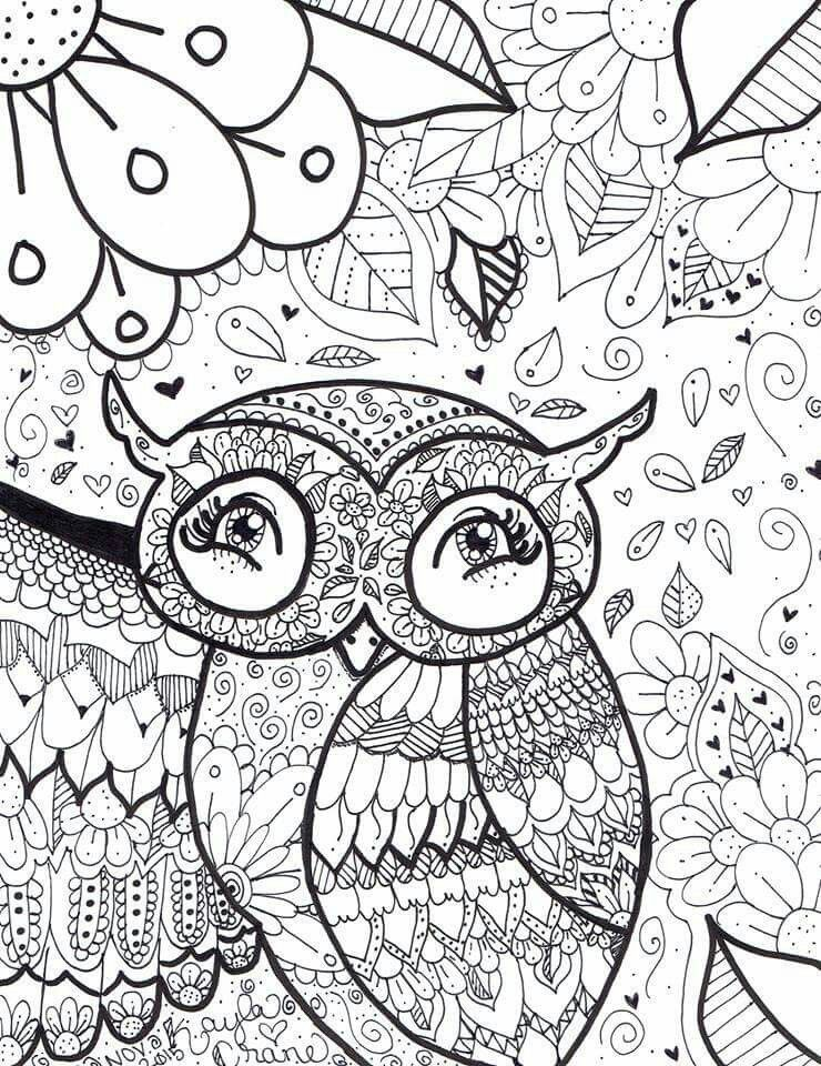Pin By Bonnie Oglesby On Owls Owl Coloring Pages Animal Coloring Pages Coloring Pages