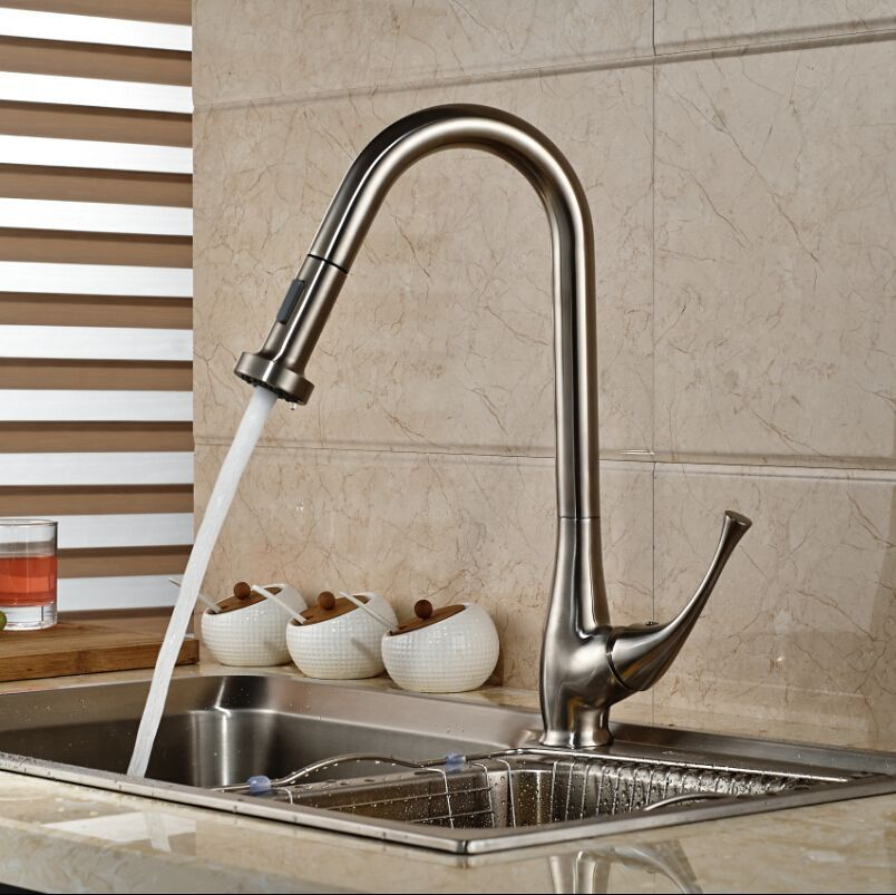 Kitchen Designs:Stainless Steel European Kitchen Faucets The ...