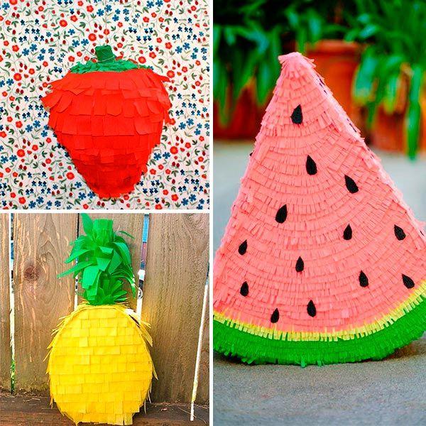 De frutas frutas pinterest pi atas para ni os - Pinatas para cumpleanos infantiles ...