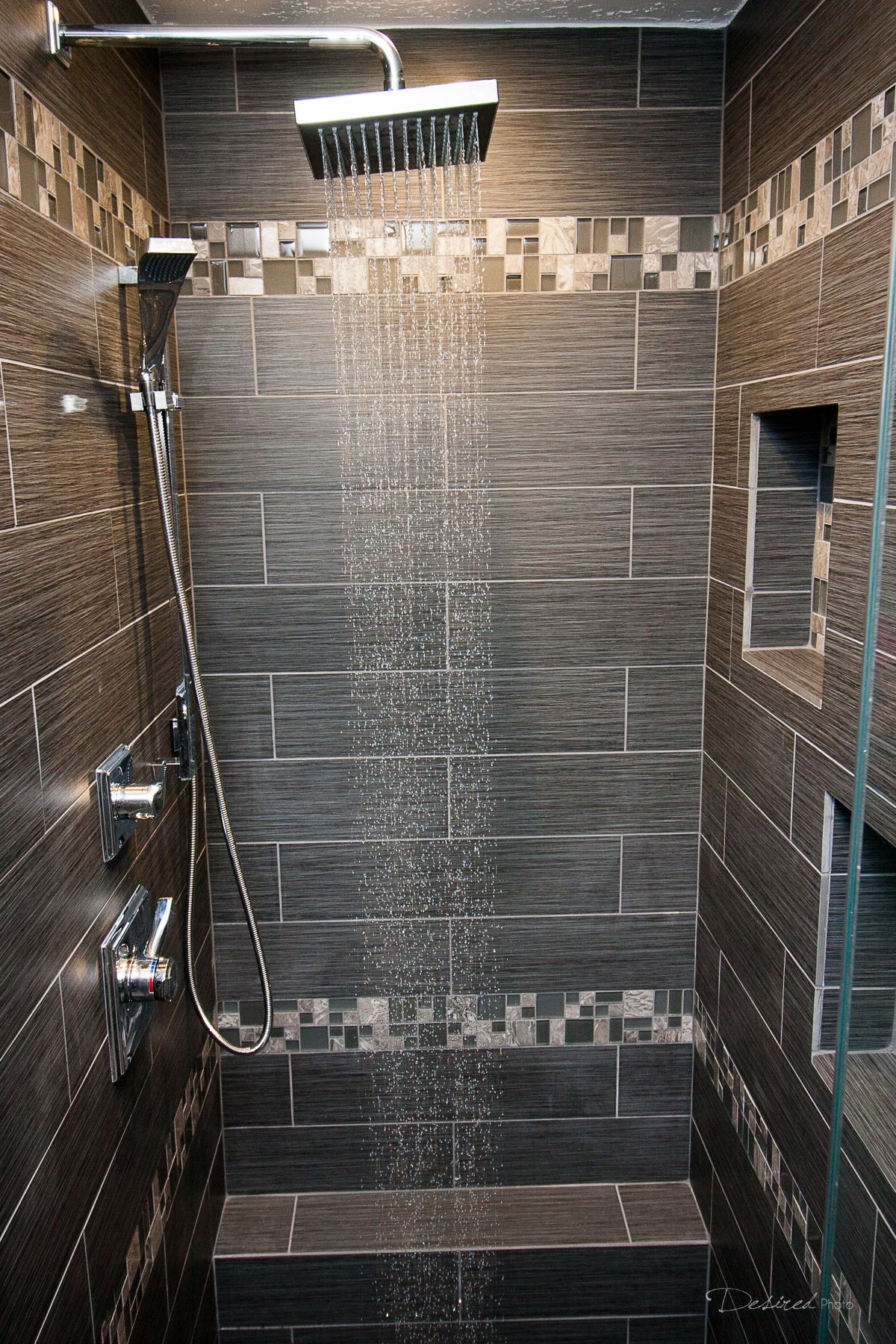 Bathroom Remodel Completed By Griffin Construction In Houston, Tx