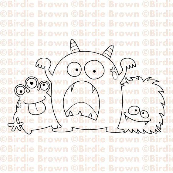 malvorlagen kleine monster  tiffanylovesbooks