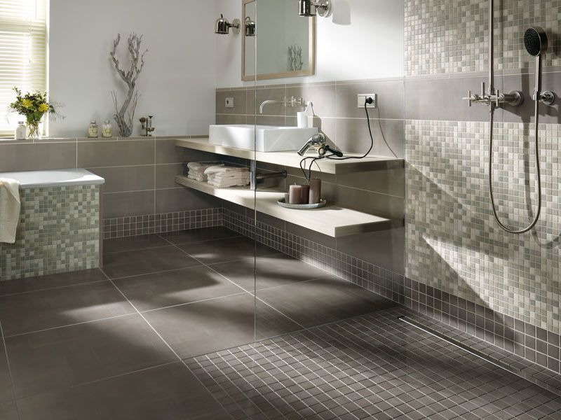 Neue Badezimmer Fliesen Fliesen Und Mosaik In Der Begehbaren