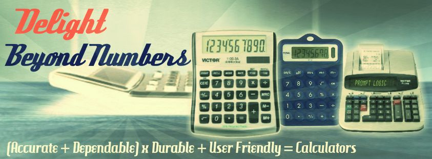 Delight Beyond #Numbers  (#Accurate + #Dependable) X #Durable + #UserFriendly = #Calculators ☛ http://www.shopofficemachines.com/Calculators-Office-Supplies/b/8258991011