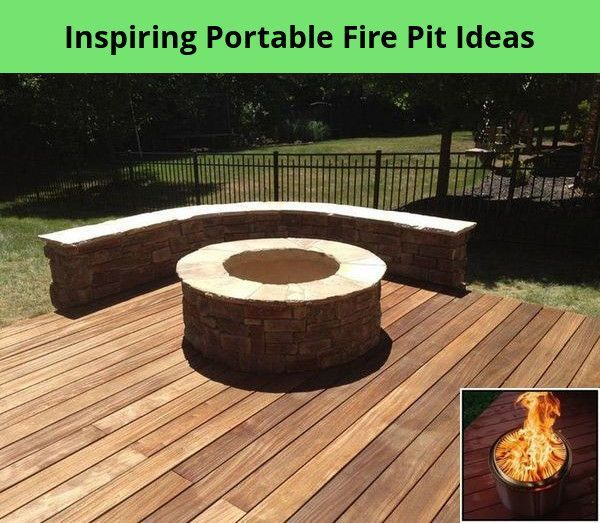 Amazing Portable Fire Pit Ideas For A Romantic Summer - The Pit Blog