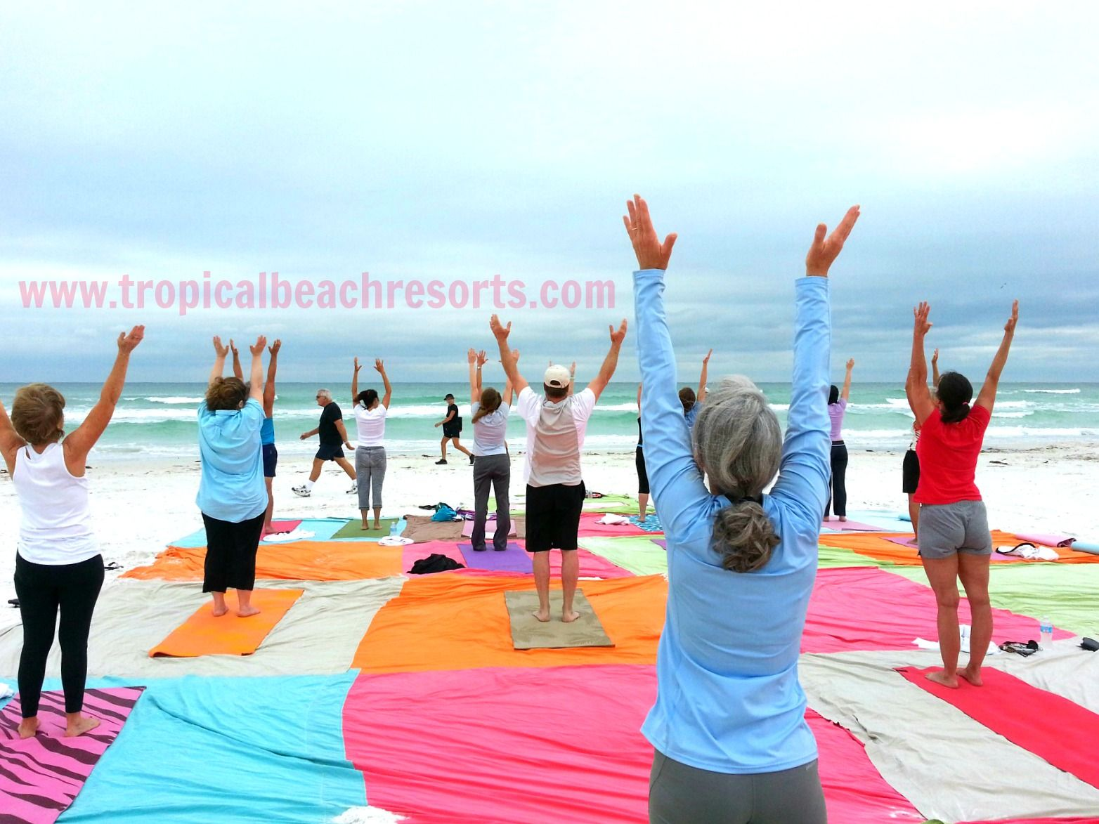 Yoga On The Beach Come Relax Siesta Key